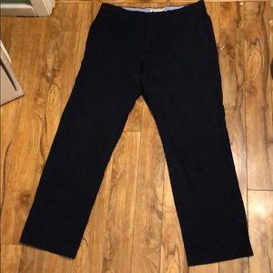 Men's J Crew Classic Fit Blue Cotton Pants - 32x30